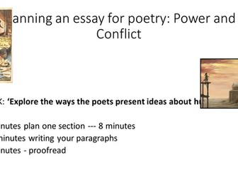 GCSE English Literature: Comparative Poetry for Power and Conflict