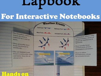 Weather Fronts Lapbook