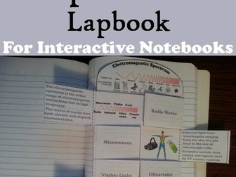 Electromagnetic Spectrum Lapbook