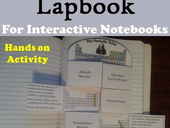Periodic Table of Elements Lapbook