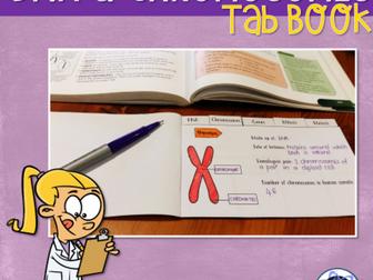 DNA & Chromosomes Interactive Notebook Activity