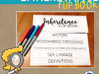 Genetics & Inheritance Flip Book