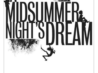 A Midsummer Night's Dream workbooklet (1 week's work)