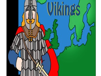 Vikings Activity Booklet