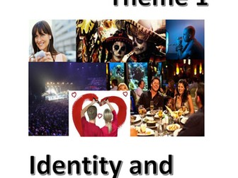 New Spanish GCSE - Theme 1 (Identity and culture) role plays (speaking test) - Updated