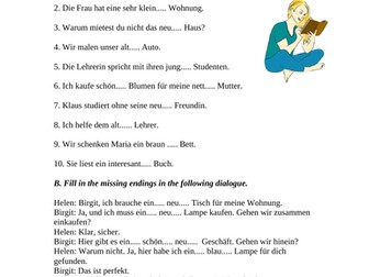 german grammar 10 worksheets bundle by ninatutor teaching resources. Black Bedroom Furniture Sets. Home Design Ideas