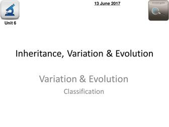 AQA Biology 4.6 – L15 Classification