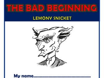 A Series of Unfortunate Events - The Bad Beginning - KS2 Comprehension Activities Booklet!