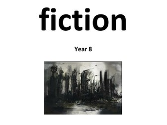 Dystopian writing- anthology of extracts with creative writing tasks