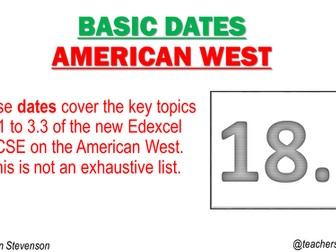 American West Date Cards
