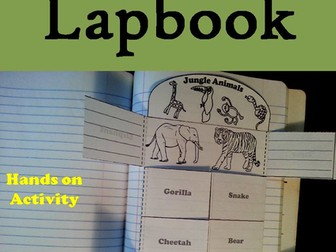 Jungle Animals Lapbook