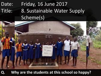 8. Sustainable Water Supply Schemes