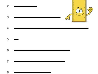 Measuring Lines - Activity Resource