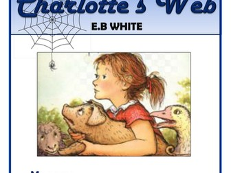 Charlotte's Web - KS2 Comprehension Activities Booklet!