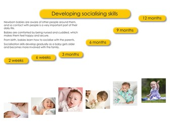 WJEC Child Development - social and emotional development