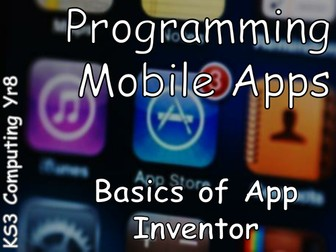 KS3 App Inventor Scheme of Work - Lesson 2