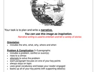 English: Narrative Writing Task