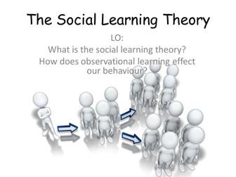 what is social learning theory Social learning theory的中文意思:社会学习理论,点击查查权威在线词典详细解释social learning theory的中文翻译,social learning theory的发音,音标,用法和例句等.