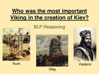 Who was the most important Viking in the creation of Kiev?