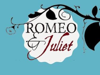 Romeo & Juliet Drama SOW