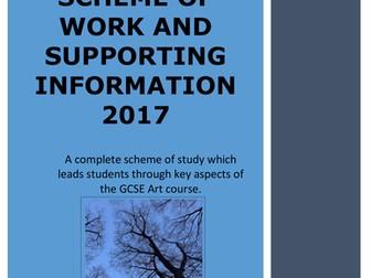 Art. GCSE Art Planning for 2017-18. Structures Scheme