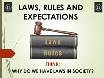 Why do we have rules and laws?