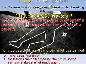 Pre-Mortem Revision Technique