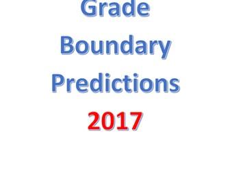 Art. A level Art Grade Boundary Prediction for 2017