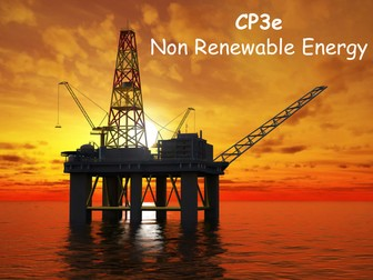 Edexcel CP3e Non Renewable Energy