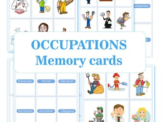 OCCUPATIONS Memory cards