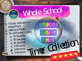 Back to School  : The Ultimate Bubble Timer.