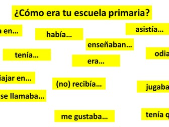 Spanish GCSE school imperfect tense ¿cómo era tu escuela primaria? _ reading _ translation