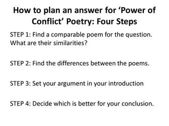 GCSE Poetry Revision