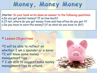 Money & Debt and Pocket Money