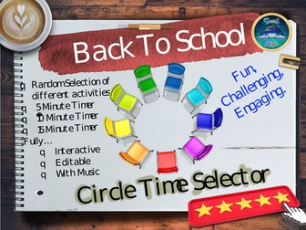 Back To School - Circle Time / Ice Breakers