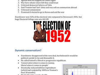 domestic polices of johnson and eisenhower essay