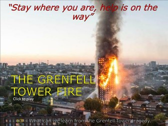 How to respond to the Grenfell Tower Tragedy