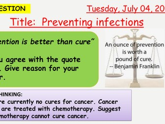 AQA new specification-Preventing infections-B5.5