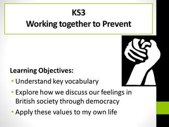 Preventing extremism assembly KS3 Democracy