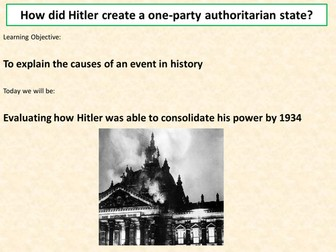 how does hitler consolidate his power This helped hitler consolidate power as it ensured that no one would be able to stand in his way from that point onwards in order to avoid threats from opposition.