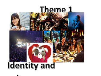 New Spanish GCSE - Theme 1 (Identity and culture): Translations - UPDATED
