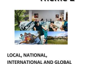 New Spanish GCSE: Theme 2(Local, regional, international and global areas...). Translation - UPDATED