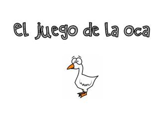 Spanish Alevel - Presente y Preterito - El juego de la Oca