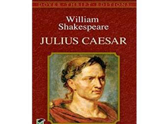 Julius Caesar Knowledge Quiz