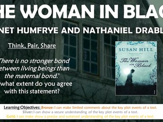 The Woman in Black: Jennet Humfrye and Nathaniel Drablow!