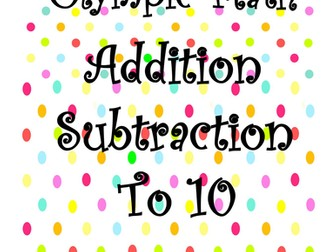 Math Olympics: Addition Subtraction to 10
