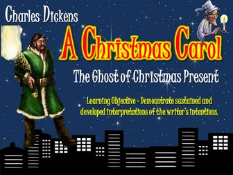 "the ghost of christmas presen essay We will write a custom essay sample on the ghost of christmas past  scrooge  says to the ghost of christmas present ""i should like to be able to say a word or."
