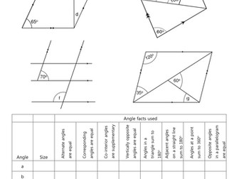 Angles in Parallel Lines: Comparing Methods