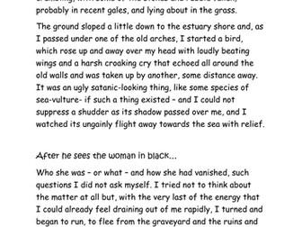 Creative Writing based on an image and understanding language and structural choices