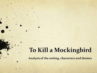 To Kill a Mockingbird: Analysis